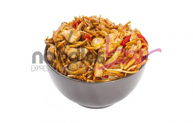 Noodles cu Pui si Legume 350gr